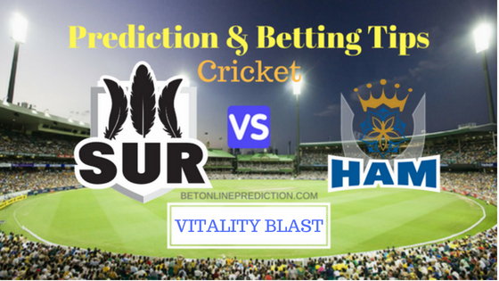 Surrey vs Hampshire South Group T20 Match Prediction and Free Betting Tips 15th August 2018