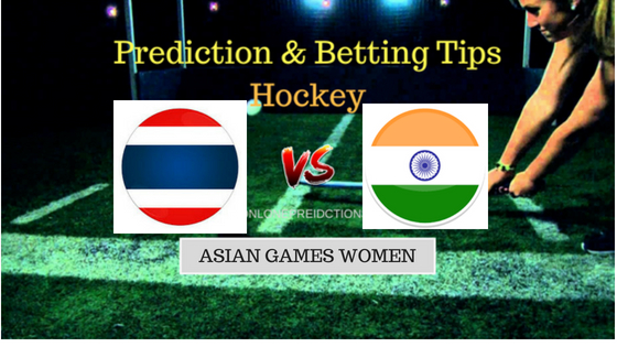 Thailand W vs India W Hockey Free Prediction 27th August 2018
