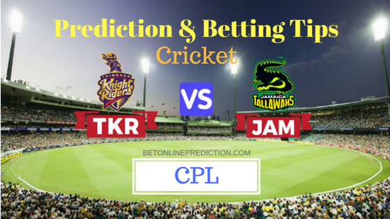 Trinbago Knight Riders vs Jamaica Tallawahs 3rd T20 Prediction and Free Betting Tips 11th August 2018
