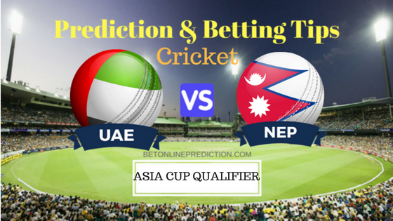 United Arab Emirates vs Nepal 4th ODI Prediction and Free Betting Tips 30th August 2018