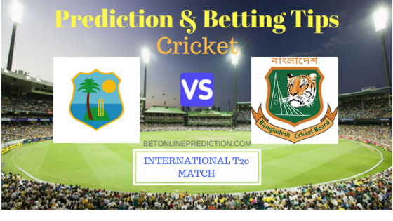 Windies vs Bangladesh 2nd T20 Prediction and Free Betting Tips 5th August 2018