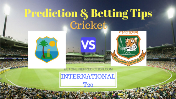 Windies vs Bangladesh 3rd T20 Prediction and Free Betting Tips 6th August 2018