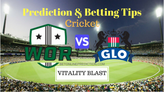 Worcestershire vs Gloucestershire 3rd Quarter-Final T20 Prediction and Free Betting Tips 25th August