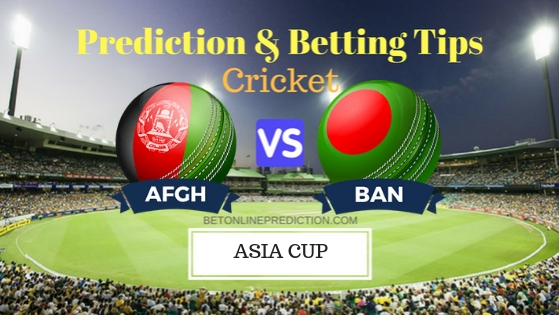 Afghanistan vs Bangladesh Super Four, Match 4th ODI Prediction and Free Betting Tips 23th September 2018