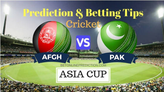 Afghanistan vs Pakistan Super Four, Match 2 ODI Prediction and Free Betting Tips 21th September 2018