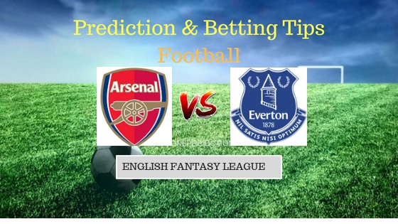 Arsenal vs Everton Prediction and Free Betting Tips 23th September 2018