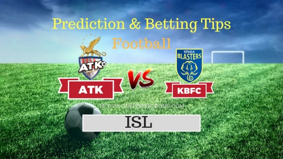 Atletico de Kolkata vs Kerala Blasters FC Prediction and Free Betting Tips 29th September 2018
