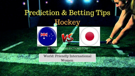 Australia W vs Japan W Hockey Free Prediction 16th September 2018