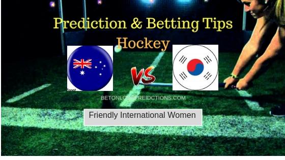 Australia W vs South Korea W Hockey Free Prediction 13th September 2018
