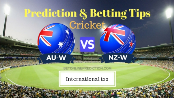 Australia Women vs New Zealand Women 2nd T20 Prediction and Free Betting Tips 1st October 2018