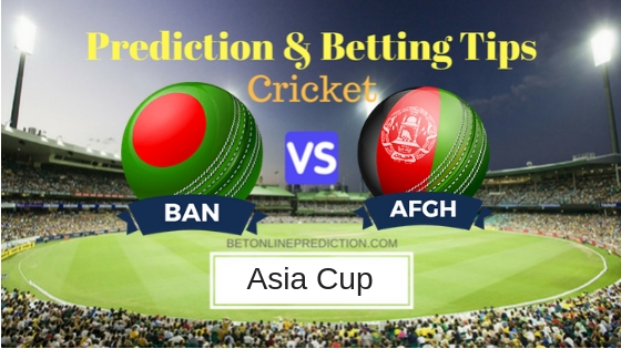 Bangladesh vs Afghanistan 6th ODI Prediction and Free Betting Tips 20th September 2018