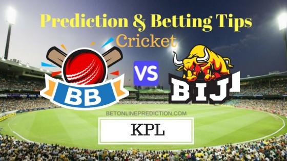 Bengaluru Blasters vs Bijapur Bulls Final T20 Prediction and Free Betting Tips 6th September 2018