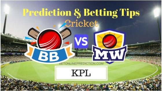 Bengaluru Blasters vs Mysuru Warriors 1st T20 SEMI-FINAL Prediction and Free Betting Tips 4th September 2018