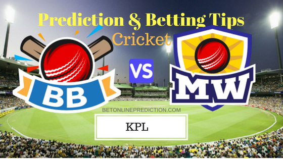 Bengaluru Blasters vs Mysuru Warriors 20th T20 Prediction and Free Betting Tips 2nd September 2018