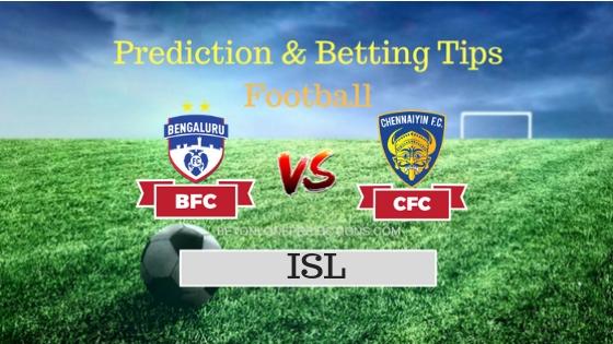Bengaluru vs Chennaiyin Prediction and Free Betting Tips 30th September 2018