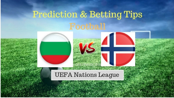 Bulgaria vs Norway Prediction and Free Betting Tips 9th September 2018