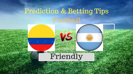 Colombia vs Argentina Prediction and Free Betting Tips 12th September 2018