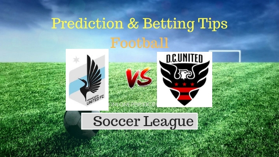 DC United vs Minnesota United Prediction and Free Betting Tips 13th September 2018