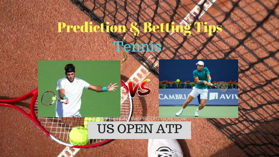 Del potro J.(Arg) vs Coric B.(Cro) Tennis Free Prediction 3rd September 2018