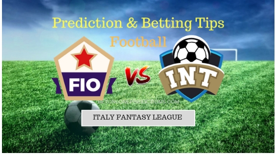Fiorentina vs Inter Milan Prediction and Free Betting Tips 26th September 2018