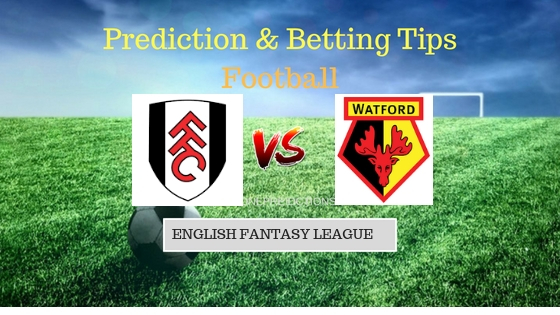 Fulham vs Watford Prediction and Free Betting Tips 22th September 2018 (1)