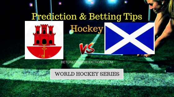 Gibraltar vs Scotland Hockey Free Prediction 6th September 2018
