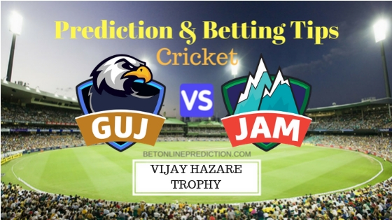 Gujarat vs Jammu & Kashmir Round 9,Elite Group C ODI Prediction and Free Betting Tips 30th September 2018