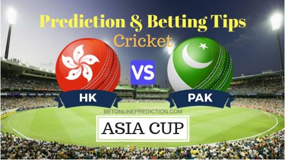 Hong Kong vs Pakistan 2nd ODI Prediction and Free Betting Tips 16th September 2018