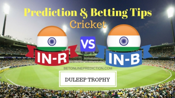 India Red vs India Blue Final TEST Prediction and Free Betting Tips 4th September 2018