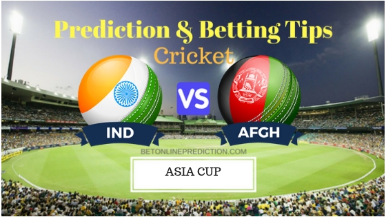 India vs Afghanistan Super Four, Match 5th ODI Prediction and Free Betting Tips 25th September 2018