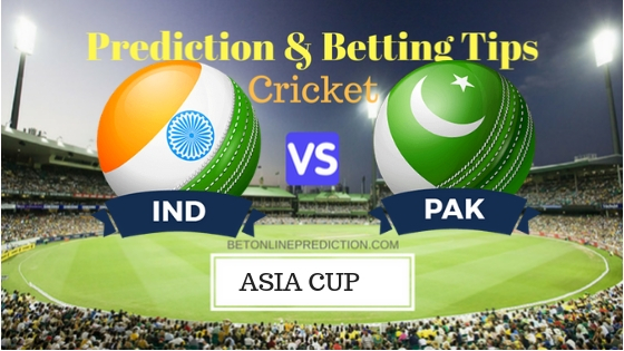 India vs Pakistan 5th ODI Prediction and Free Betting Tips 19th September 2018