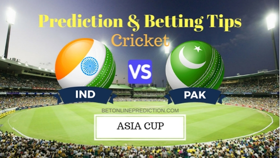 India vs Pakistan Super Four,Match 3rd ODI Prediction and Free Betting Tips 23th September 2018