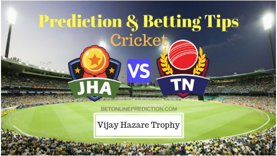 Jharkhand vs Tamil Nadu Round 6, Elite Group C ODI Prediction and Free Betting Tips 25th September 2018