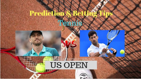 John Millman J.(Aus) vs Novak Djokovic (Srb) Tennis Free Prediction 5th September 2018