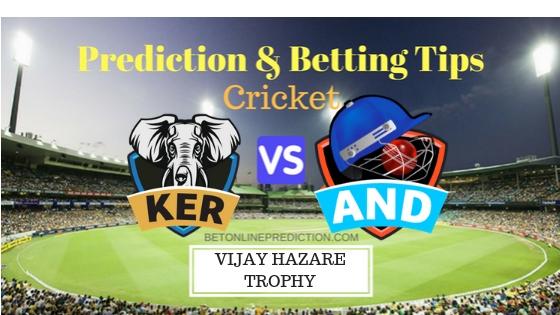 Kerala vs Andhra Round 1, Elite Group B ODI Prediction and Free Betting Tips 19th September 2018