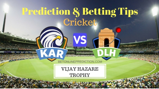 Kerala vs Delhi Round 7,Elite Group B ODI Prediction and Free Betting Tips 28th September 2018
