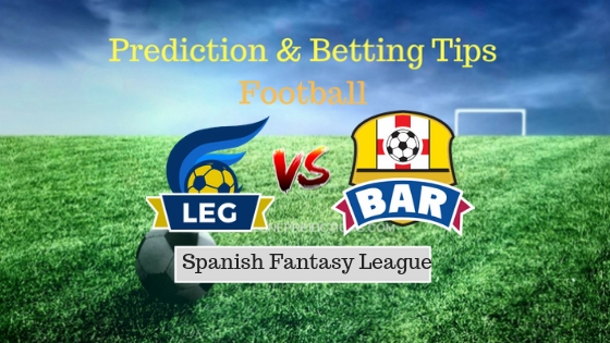 Leganes vs Barcelona Prediction and Free Betting Tips 26th September 2018