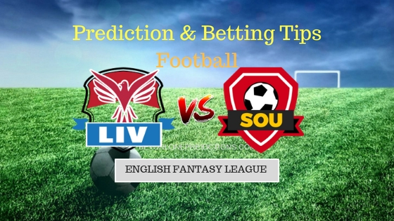 Liverpool vs Southampton Prediction and Free Betting Tips 22th September 2018