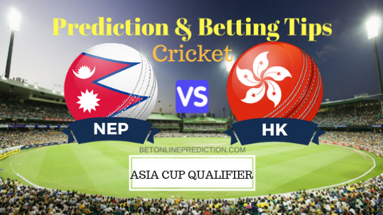 Nepal vs Hong Kong 15th ODI Prediction and Free Betting Tips 4th September 2018