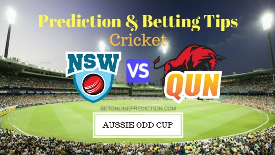 New South Wales vs Queensland 14th ODI Prediction and Free Betting Tips 1st October 2018