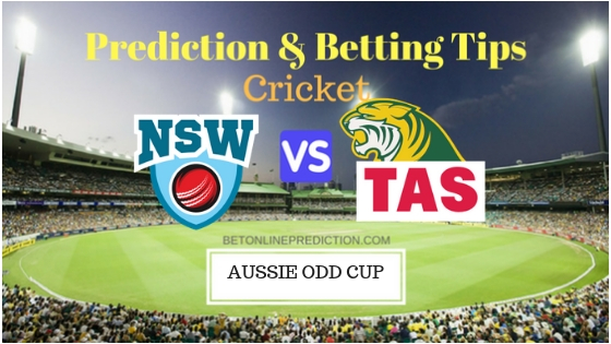 New South Wales vs Tasmania 8th ODI Prediction and Free Betting Tips 25th September 2018