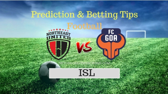 North East Utd vs Goa Prediction and Free Betting Tips 1st October 2018