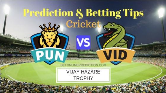 Punjab vs Vidarbha Round 3,Elite Group A ODI Prediction and Free Betting Tips 21th September 2018