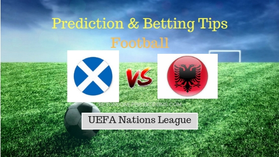 Scotland vs Albania Prediction and Free Betting Tips 10th September 2018