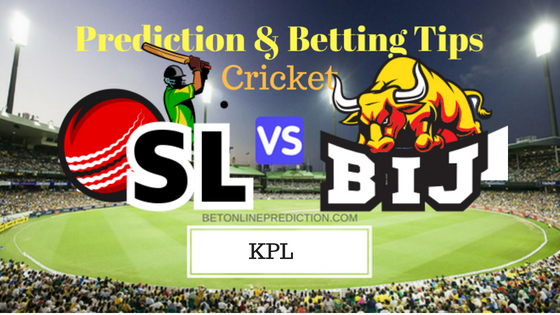 Shivamogga Lions vs Bijapur Bulls 19th T20 Prediction and Free Betting Tips 2nd September 2018
