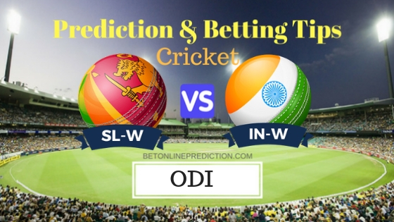 Sri Lanka W vs India W 2ND ODI Prediction and Free Betting Tips 13th September 2018