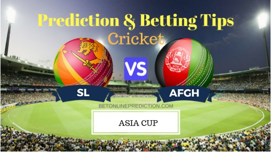 Sri Lanka vs Afghanistan 3rd ODI Prediction and Free Betting Tips 17th September 2018