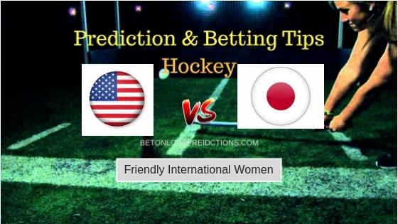 USA W vs Japan W Hockey Free Prediction 13th September 2018