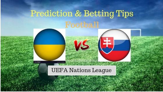 Ukraine vs Slovakia Prediction and Free Betting Tips 9th September 2018