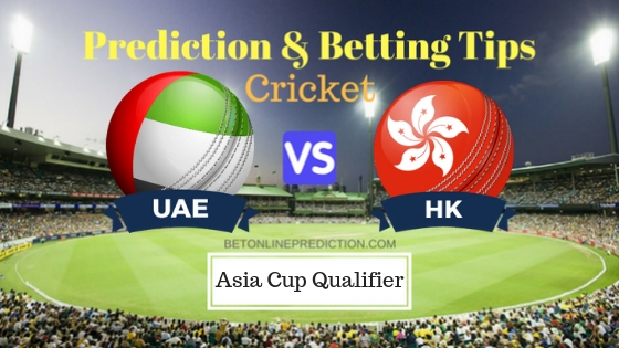 United Arab Emirates vs Hong kong Final ODI Prediction and Free Betting Tips 6th September 2018